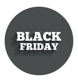Black friday sign icon Sale symbol vector image