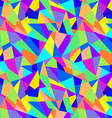 Abstract geometric colorful pattern background vector image vector image