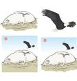 eagle rock los angeles vector image
