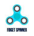 hand spinner fidget spinner vector image