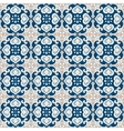 Seamless pattern of portuguese azulejos tile vector image