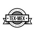 Mexican Cuisine vintage sign - Tex-Mex vector image