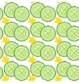 Cucumber seamless vector image