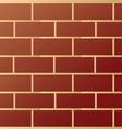 Brick modern wall pattern vector image vector image