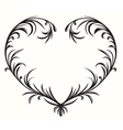 Flourishing heart vector image