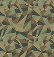 Abstract geometric camouflage pattern background vector image