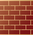 Brick modern wall pattern vector image