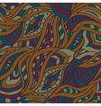 Indian seamless pattern Stylized color of henna vector image