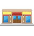 Shop facade 03 vector image