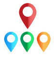 map colors icon on white background map color vector image