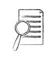 searching in documents vector image