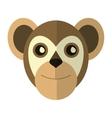 breasted capuchin primate brazil fauna vector image