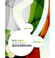 Colorful fresh modern abstract background vector image vector image