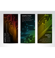 technical banners vector image