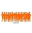 People background vector image