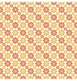 Autumn seamless pattern Endless texture vector image