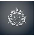 Lineart logo design elements vector image