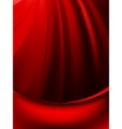 Red curtain fade to dark card EPS 8 vector image