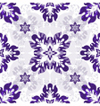 White seamless pattern vector image vector image
