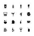 drink - flat icons vector image