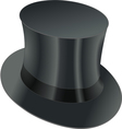top hat vector image