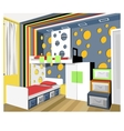 child room vector image