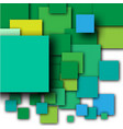 colorful empty squares vector image