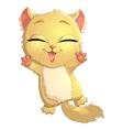 cat shou vector image