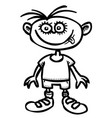 cartoon image of child icon children symbol vector image vector image