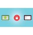 encryption encrypt data secure vector image