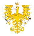Heraldic eagle 18 vector image