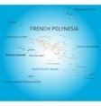 French Polynesia vector image vector image