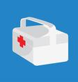 medical box vector image