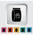 Pet food bag vector image vector image