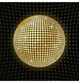 Shiny disco ball vector image