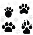 Paws and Claws Print vector image