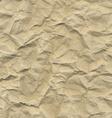 Cardboard Crushed Paper vector image vector image