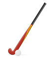 field hockey 02 vector image