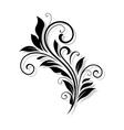 Vintage flourish design vector image