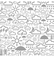 Background weather3 vector image vector image
