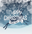 Merry Christmas Abstract Lights Background vector image vector image