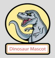 Dinosaur mascot vector image vector image