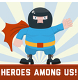 Hero vector image vector image