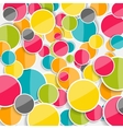 Abstract Glossy Circle Background vector image vector image