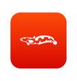 anarhichas fish icon digital red vector image