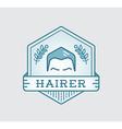 Retro Design Logotype DIY Handmade Craft Art vector image