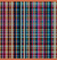 checks fabric tartan seamless background vector image