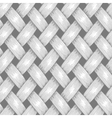 Wicker Seamless Background Wooden Basket Textured vector image