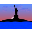 The Statue of Liberty vector image