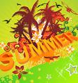 Bright Summer Design vector image